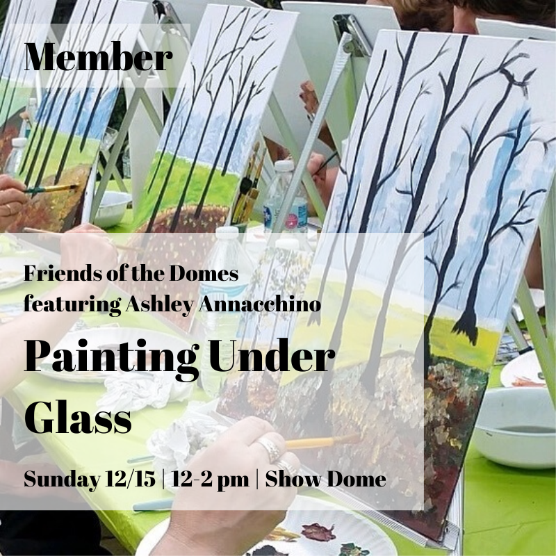 Winter Painting Under Glass - Member