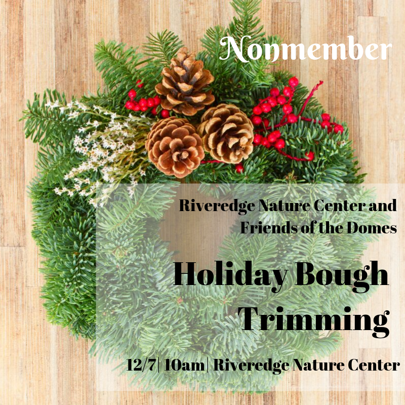 Nonmember: Holiday Bough Trimming