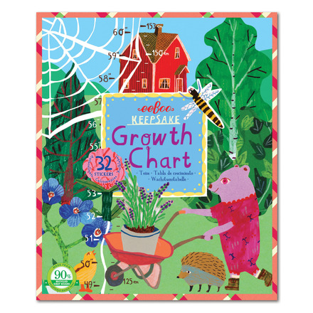 Keepsake Growth Chart – Making the Garden
