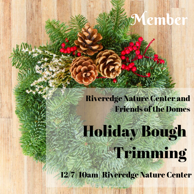 Member: Holiday Bough Trimming
