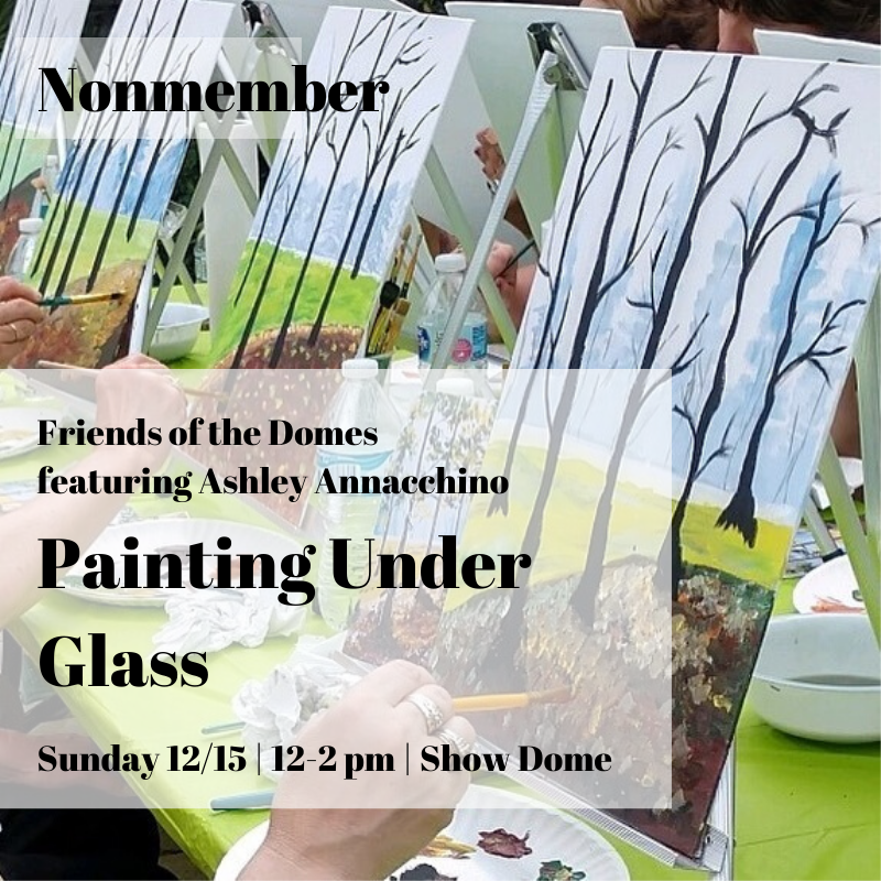Winter Painting Under Glass - Nonmember