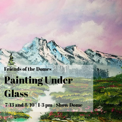 FOD Member: Painting Under Glass